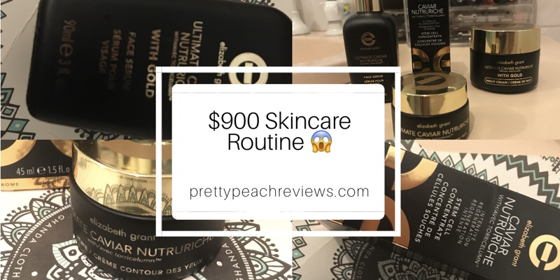 $900 Skincare Routine!!!