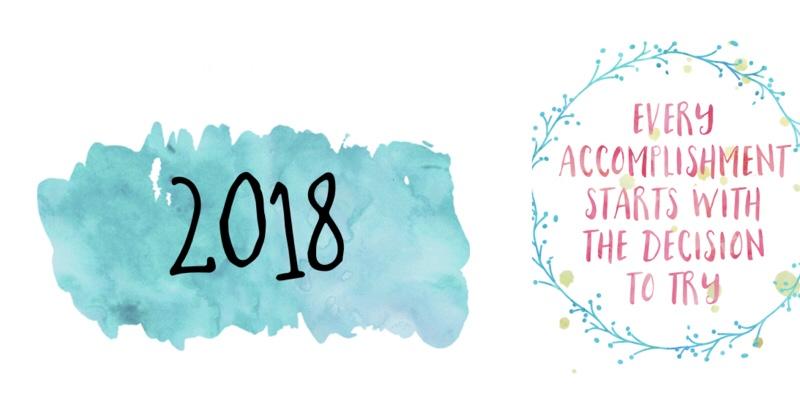 Let's get personal! Blogging goals for2018