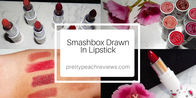 Smashbox Drawn in, Decked out, Be LegendaryLipstick.