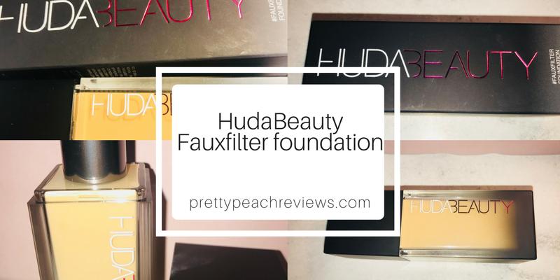 Huda Beauty FauxFilterFoundation!